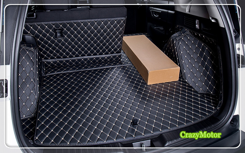 (Custom Special Car Trunk Mats For Honda CRV 2017 2018 rear boot Mats auto accessories-in