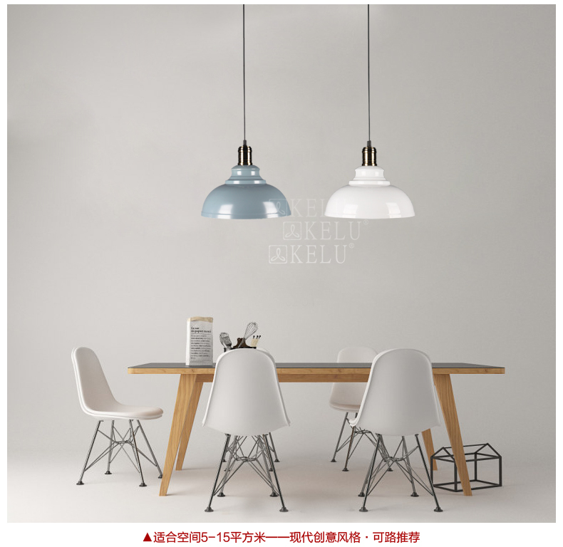 Classic Hemisphere Pendant light aluminum modern style for foyer parlor lighting black white color lampClassic Hemisphere Pendant light aluminum modern style for foyer parlor lighting black white color lamp