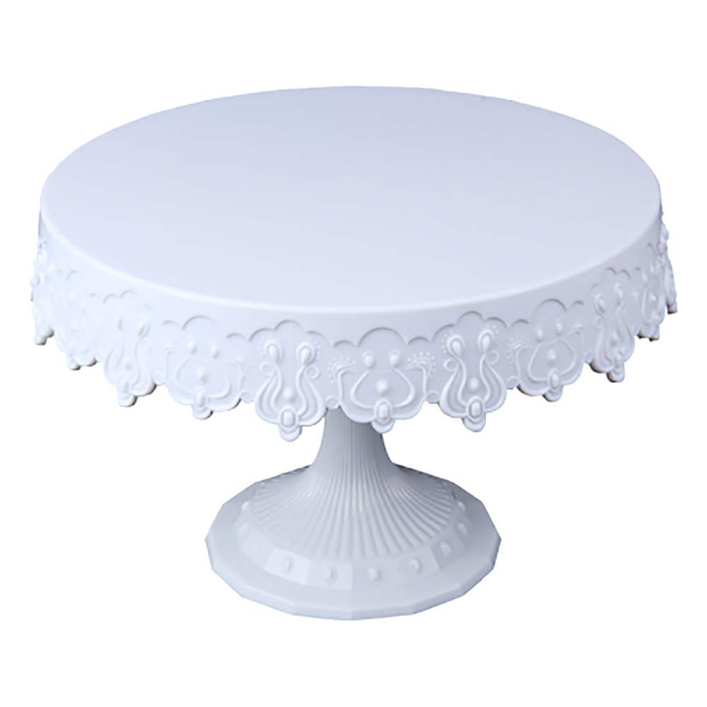 MRF High Quality Plastic Cake Decorating Retro Turntable Stand 8 9 39 39 x5 9 39 39 for Wedding Decoration in Turntables from Home amp Garden
