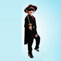 Máscara De Zorro E o Kid Flash Traje Cosplay Para O Miúdo trajes de halloween super hero cosplay estilo e no tamanho diferentes para escolher
