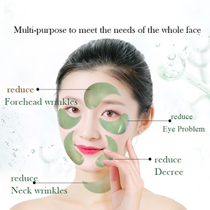 Image 5 - Fonce Deep Sea Seaweed Collagen Crystal Eye Patches 60 Piece Korean Reduce Dark Circles Gel Sleep Masks Anti Age Eye Wrinkle