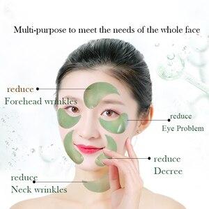 Image 5 - Fonce глубокие морские водоросли коллагеновые Кристальные патчи для глаз 60 шт. корейские уменьшающие темные круги гелевые маски для сна против возрастных морщин для глаз