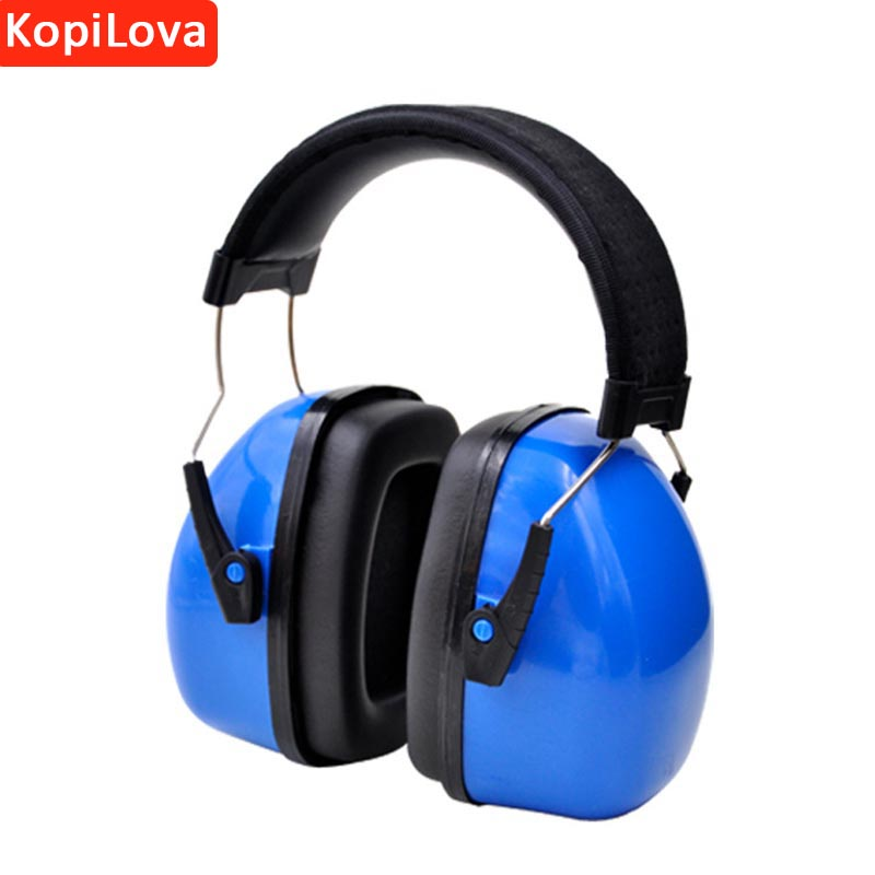 KopiLova 10pcs High Quality Blue Noise Reducing Ear Muffs Hearing Protective Soundproof  ...