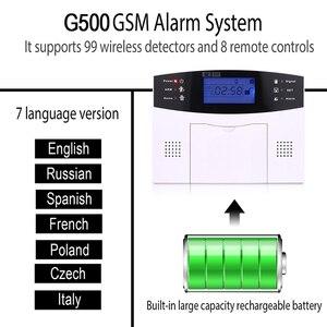 Image 2 - Wireless smart Home Security GSM Alarm System Intercom haus Fernbedienung Autodial Sirene Sensor Kit