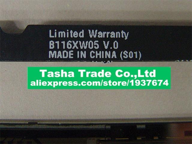 B116XW05 V.0 B116XW05 V0 brouillard pour Macbook Air 11.6