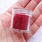 Hot Sale ! 2017 1Box 10ML Transparent Glitter red ultra-fine Nail Glitter Dust Powder Manicure DIY Nail Art Decoration,#221fdgRE