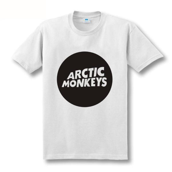 Zweite Tötung Arktische Affen Druckt-shirt Männer Kurzhülse 100% - Herrenbekleidung - Foto 2
