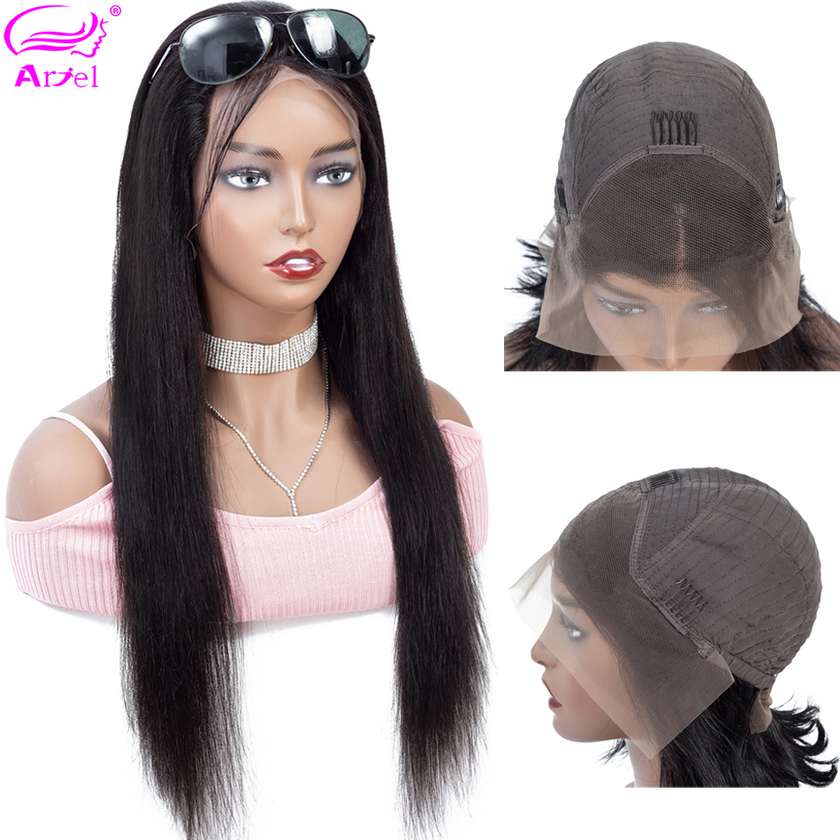 Straight Lace Front Wig 13 4 Lace Front Human Hair Wigs Remy Pre Plucked With Baby