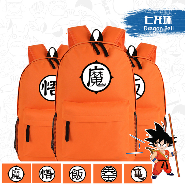 Dragon Ball  Z GoKu WoKoo Master Roshi School Bags