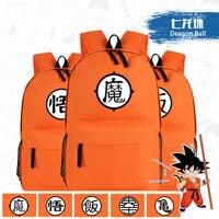 Japanese Anime Dragon Ball Z GoKu WoKoo Master Roshi Cosplay Printing School Bags For Teenagers Canvas