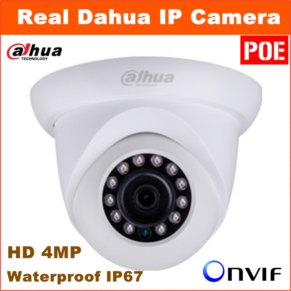 Newest Arrive Dahua IP Camera DH IPC HDW5421S Full HD 4MP Waterproof IP67 Security Camera Support