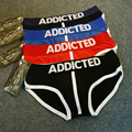 Hot ADDICTED Popular Brand Men's Underwear Briefs,S,M,L 2 pcs a lot free shipping