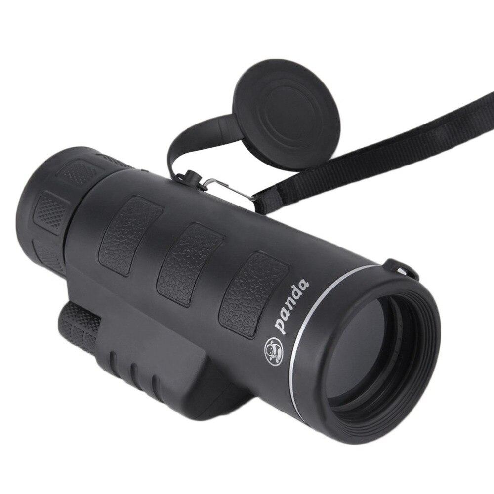 40x60 HD lente óptica de doble enfoque monocular telescopio binoculares multi revestimiento Objetivos lente óptica de enfoque dual día noche visión caliente