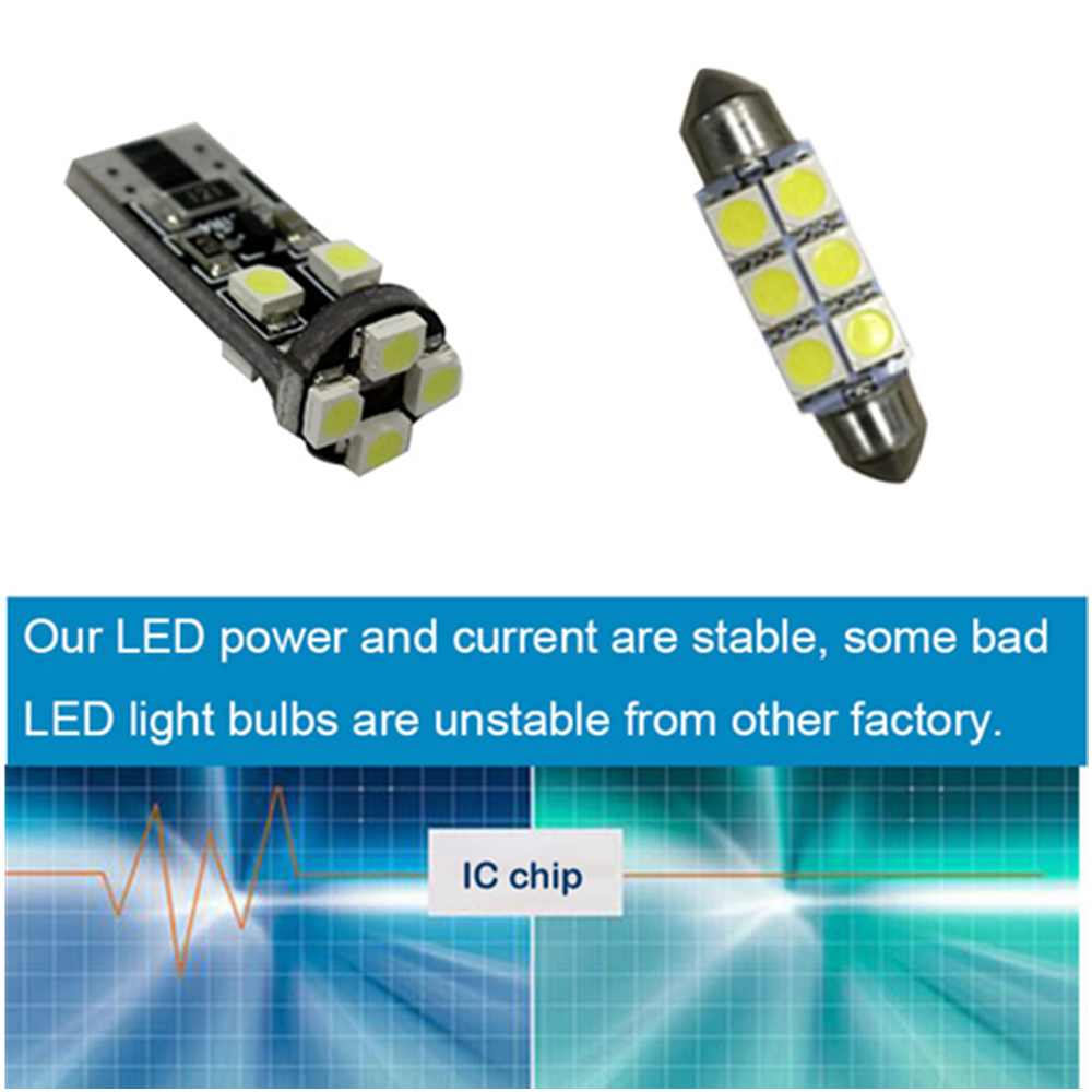 Led Interior Light Kit Package For Mercedes Benz C Class W204 3v 3w Amber Power 55lm Rapid Online 01 9 10 11