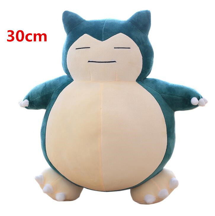 30cm Snorlax Plush Toys Anime New Rare Soft Stuffed Animal Doll For Christmas Gift 12inch Hot