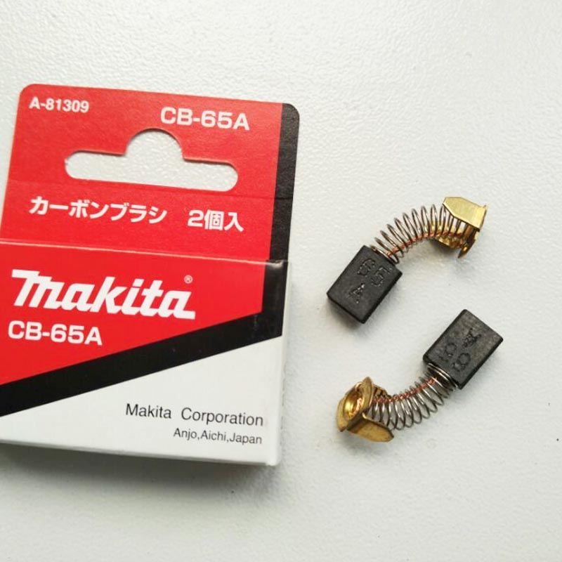 1 Pair Original Makita Carbon Brushes For Electric Motors CB 65 CB 72 CB 76 CB52 CB53 CB65 CB72 CB76 5x8x11.5mm