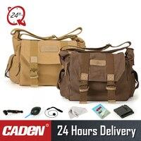 CADeN F1 vintage Camera Bag Shoulder Protective Cases DSLR Photo bags for Canon Nikon Sony Pentax canvas sling camera bag