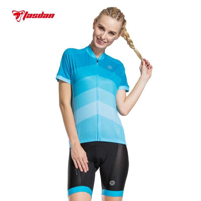 Prix pour Tasdan 2016 De Bicyclette De Vélo Vêtements Vélo Jersey Cuissard Femmes Cyclisme Jersey Ensembles de Haute Qualité