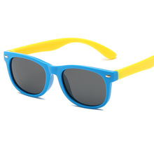 Polarized Kids Sunglasses Child Fashion Sun Glasses Baby Boy Girls Eyewear Flexible Eyeglasses 1.5-11 Years UV400