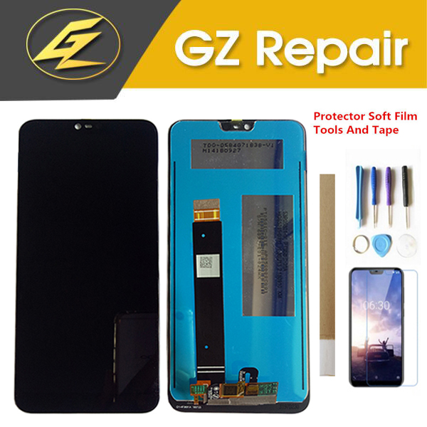 5.84 Inch For Nokia 7.1 TA-1085 TA-1095 TA-1096 TA-1100 LCD Display With Touch Screen Sensor Digitizer Assembly With Kits5.84 Inch For Nokia 7.1 TA-1085 TA-1095 TA-1096 TA-1100 LCD Display With Touch Screen Sensor Digitizer Assembly With Kits