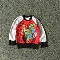 Free Shipping 8 Pieces/lot NEW 2-10T Boy Avengers Hoodie Boy Fleece Sweatshirt