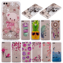 SuliCase Huawei P Smart Enjoy 7S Case Colored Anime Animal Silicone TPU Skin Cover for Enjoy7S