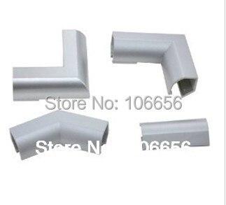 rigid led strip straight corn connector 90 135 180 degree Aluminum