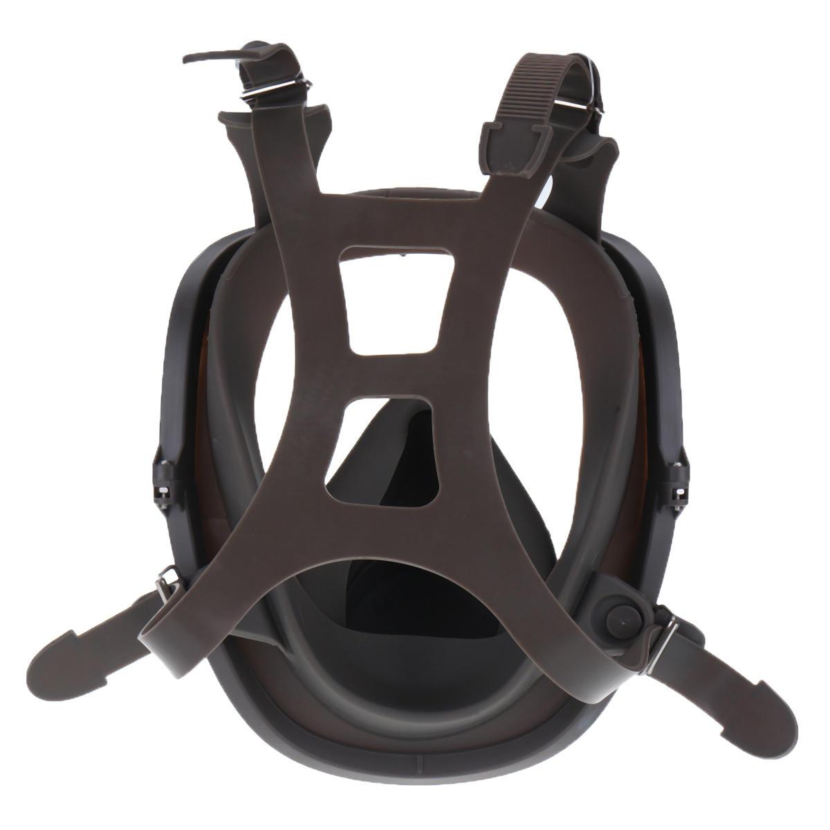 3 en 1 costume peinture pulvérisation similaire pour Silicone visage complet masque respiratoire réutilisable 6800 gaz masque de protection - 5