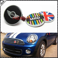 Freeshipping MINI COOPER Emblem Badge Logo Decal Sticker Front grill Metal No.H Metal