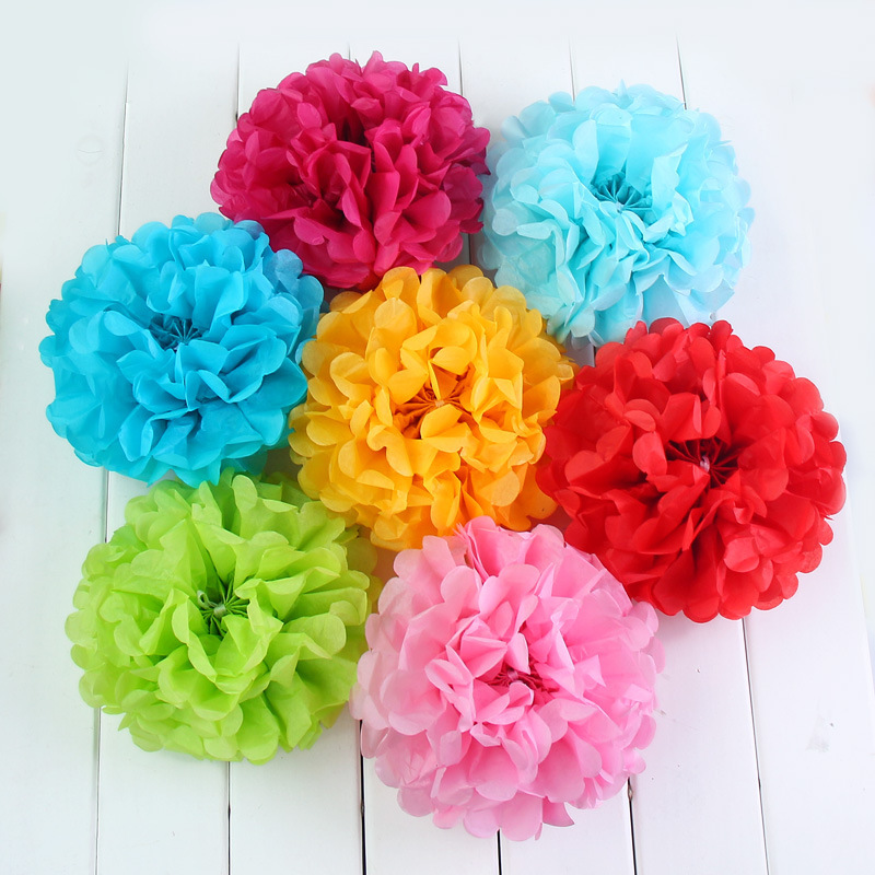 13 colors creative korean large paper flowers ball trumpet wedding 13 colors creative korean large paper flowers ball trumpet wedding party decoration marriage room decoracion para bodas jq004 in artificial dried flowers mightylinksfo