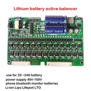 Image 5 - 2A Equalizzatore Attivo del Display Bluetooth APP 2S ~ 24S BMS Li Ion Lipo LTO Lifepo4 Al Litio Titanato Batteria JK Balancer 8S 16S