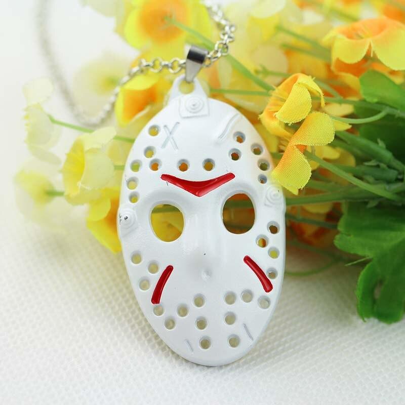Horror Movie Jewelry Black Friday Hockey Jason Mask Pendant Necklace 1pc