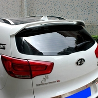 SHCHCG For Kia Sportage R 2011 2012 2013 2014 2015 ABS Plasrtic Unpainted Color Tail Wing Rear Boot Lip Trunk Rear Roof Spoiler