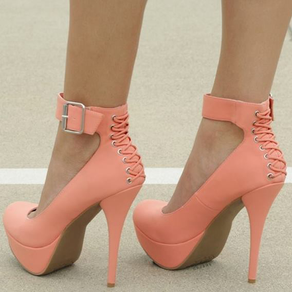 Popular Orange High Heel Pumps-Buy Cheap Orange High Heel Pumps
