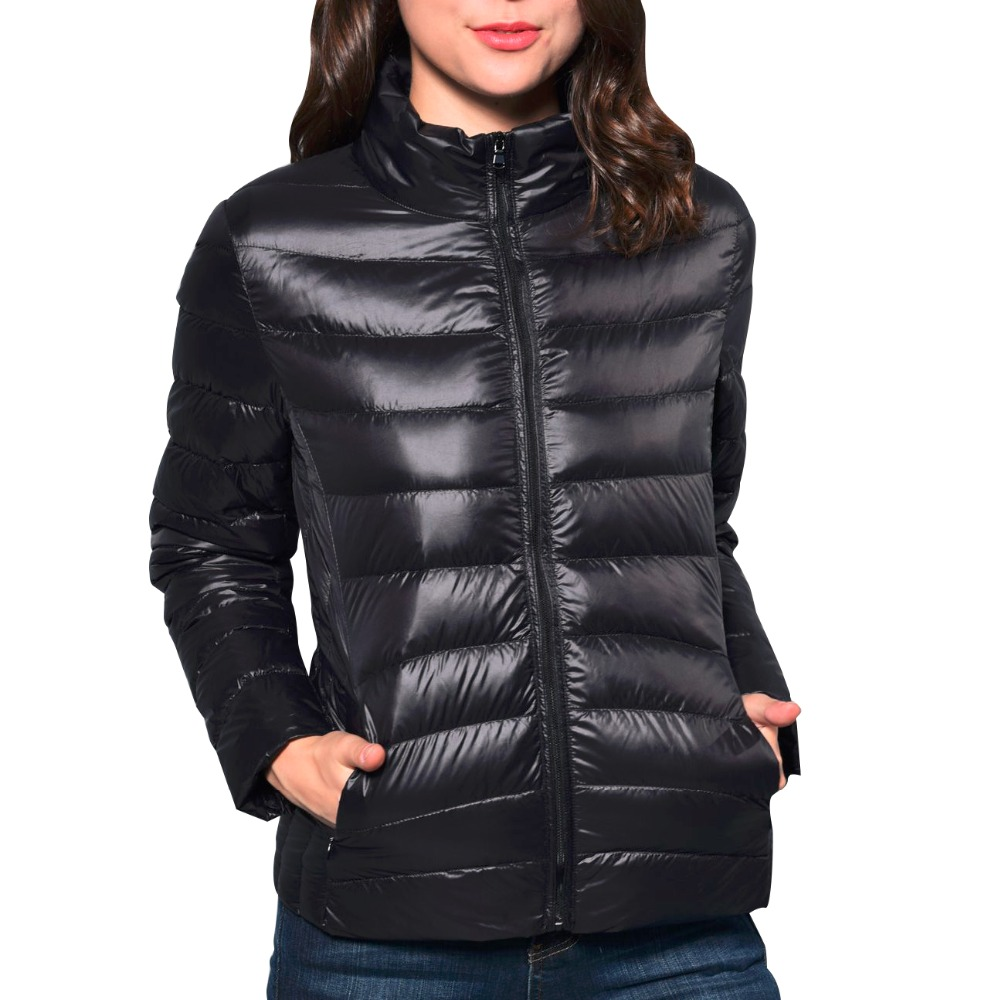 New Casual Ultra Light White Duck Down Jacket Women Autumn Winter Warm Coat Lady Plus Size 4XL Jackets Female Hooded Parka