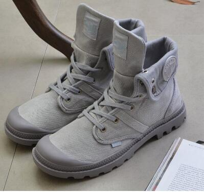 b49718ed4d84e US $26.8 10% OFF|Men canvas walking boots male spring summer walking shoes  mens classic vintage canvas shoes anti skid traveling trekking shoes-in ...