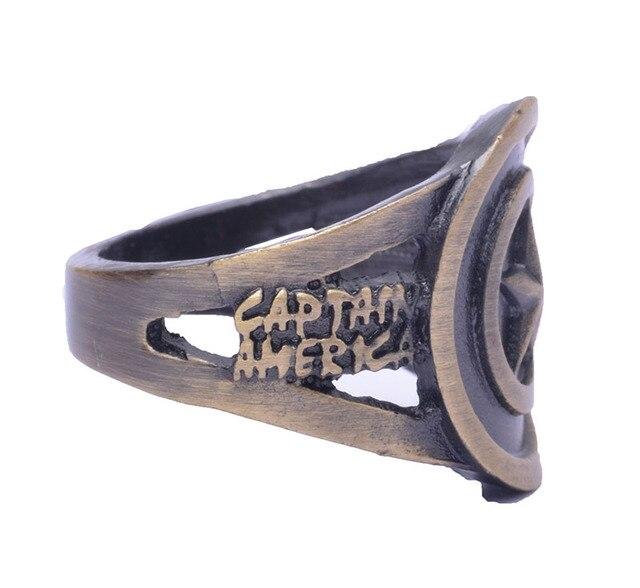 Кольцо с логотипом Капитана Америки Марвел 3