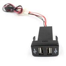 Надежный дропшиппинг 12 В DC мотоцикл автомобиля 3.1A двойной USB светодиодный зарядное устройство гнездо вольтметр для напряжения панели