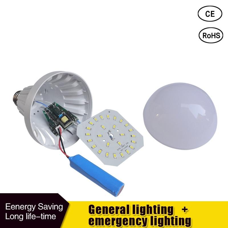 Luzes de Emergência diodo emissor de luz 85-265 Utilização : Emergência