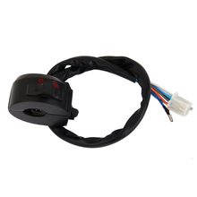 Waterproof Motorcycle Aluminium Alloy Switches Universal Handlebar Headlight Fog Light Turn Signal Control
