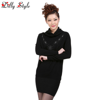 New Cashmere Sweater Women Luxury Long Sleeves Knitted Pullovers Black Red Ladies Cashmere Pullovers Sweater DL1262