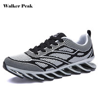 WalkerPeak Men S Running Shoes Springblade Sneakers Cushioning Outdoor Sport Shoes For Men Lightweight Athletic Shoes