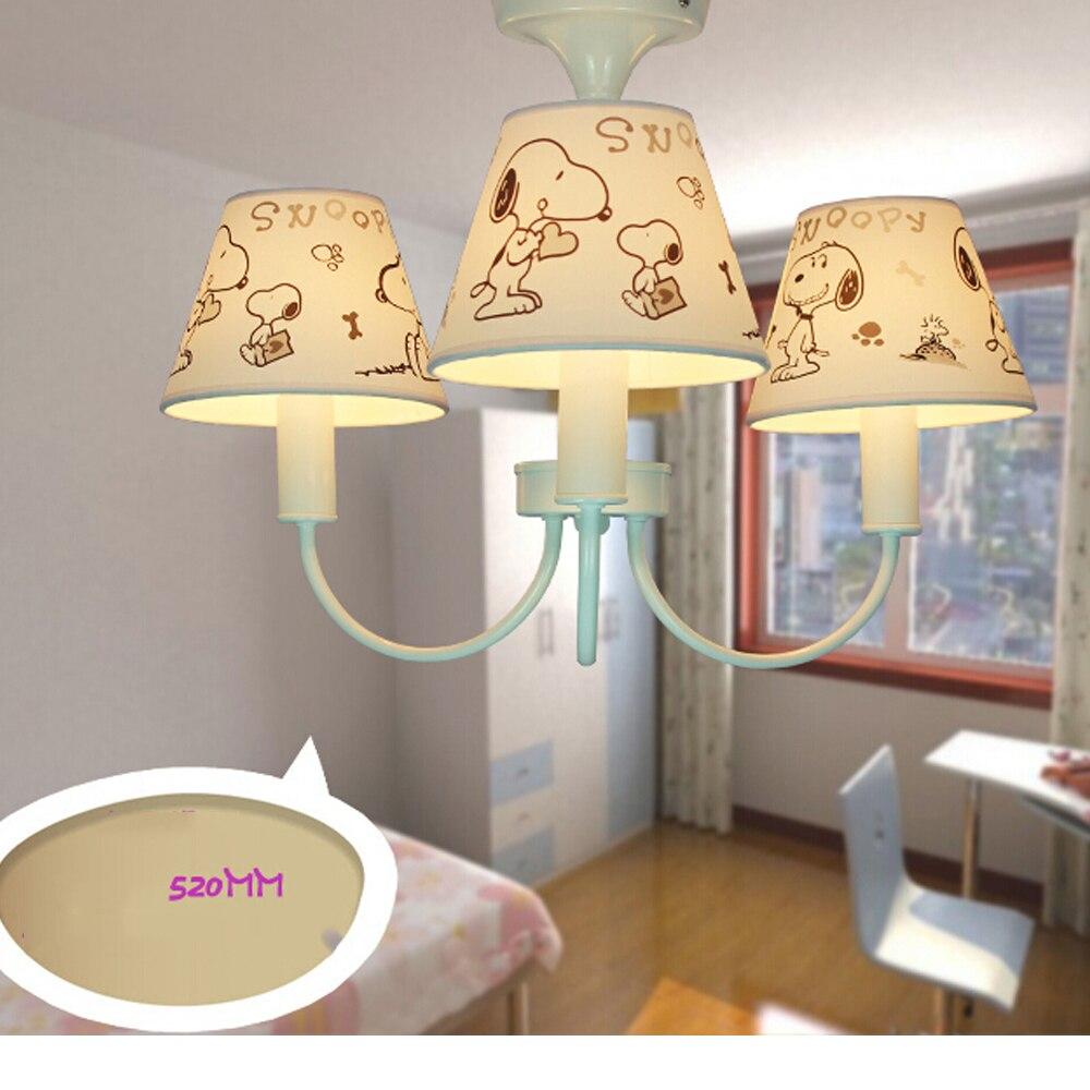 High Quality New Modern Chandelier Kids Room Led Home Lighting E14 110v 220v Suspension Classic