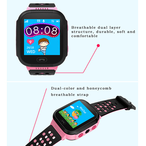 Image 5 - Q528 GPS Smart Watch With Camera Flashlight Baby Watch SOS Call Location Device Tracker for Kid Safe PK Q100 Q90 Q60 Q5