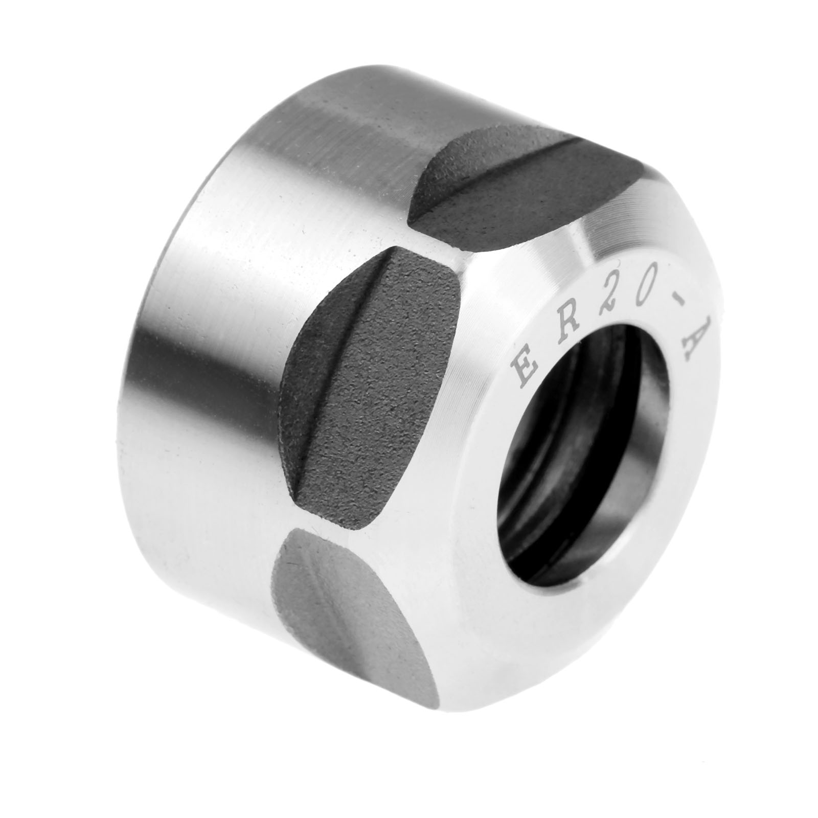1pcs ER20 A Type Collet Clamping Nut for CNC Milling Collet Chuck Holder Lathe