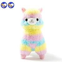 A Toy A Dream Hot Sale 35cm Rainbow Alpaca Plush Sheep Toy Japanese Soft Plush Alpacasso