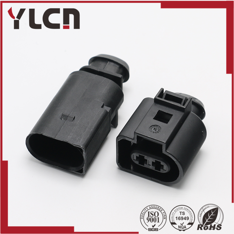 Free Shipping 2pin 3.5 series lVW AUDI Auto Temp Sensor Plug Electric Horn Socket Connector  1J0 973 722 8D0 973 822 1717692-1 pursue blue eyes princess reborn 55cm silicone baby dolls adora doll for girls kids bebe reborn menina de silicone reborn babies