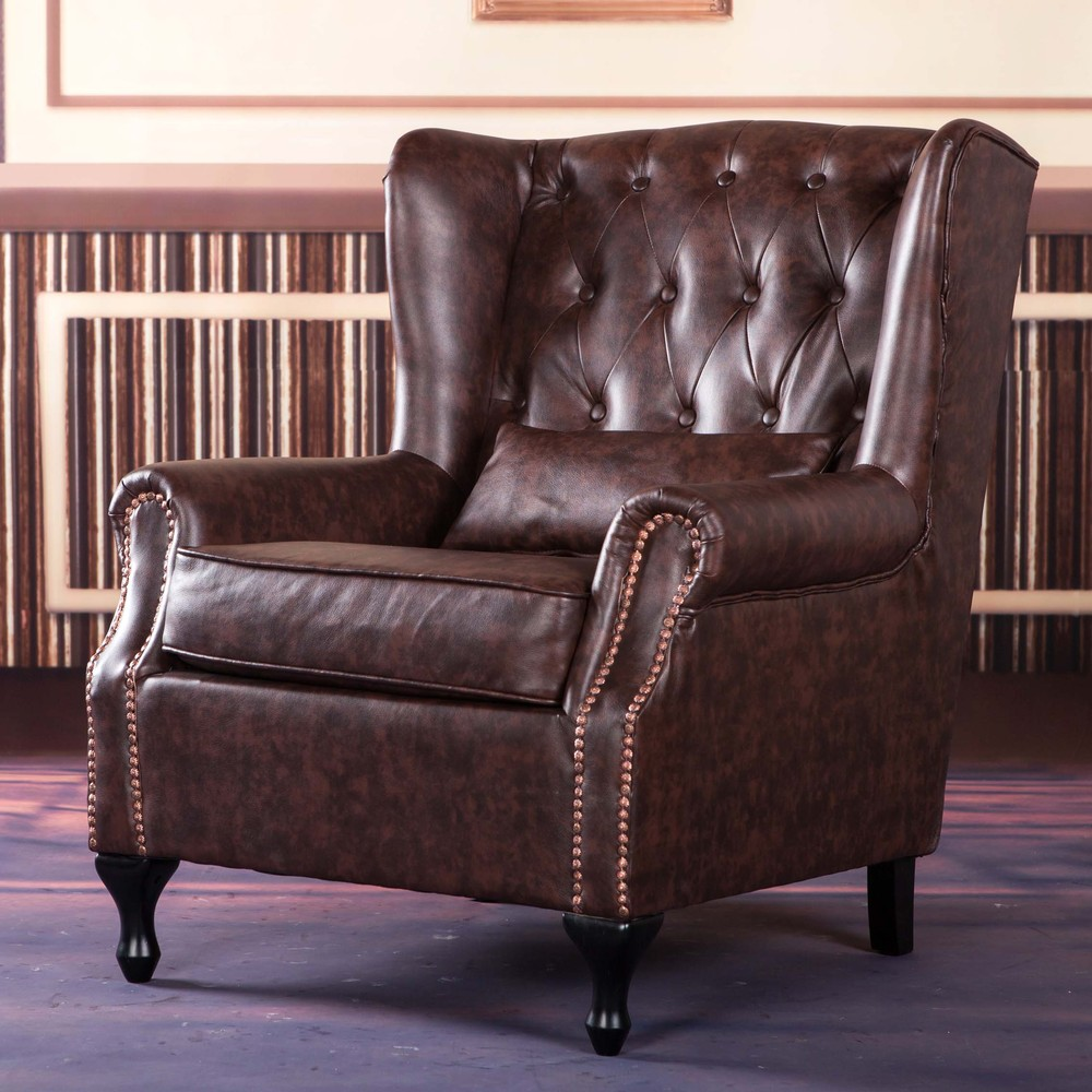 American Continental Furniture Sofa Chaise Longue Chairs Tiger Single Chair Bedroom British Study In Hotel Sofas From On