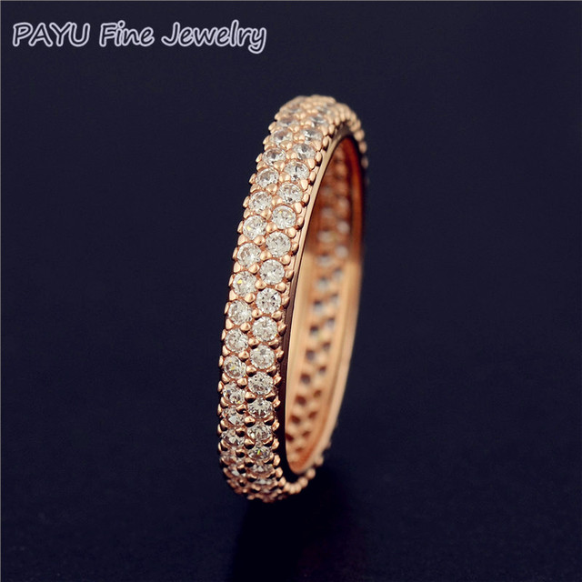PAYU Rose Gold Jewelry Inspiration Within Ring For Women With