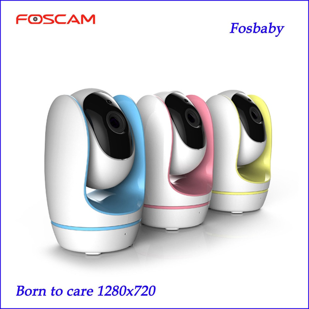 Foscam Fosbaby HD 720P Wireless Baby Monitor P2P Home Security IP Network Camera Monitor P2P IP Camera foscam fi9826p wireless ip camera home security alarm 1 3mp 960p